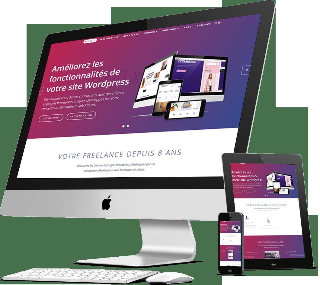 J'ajoute les fonctionnalités dont vous avez besoin, à votre site WordPress à partir de 30€TTC