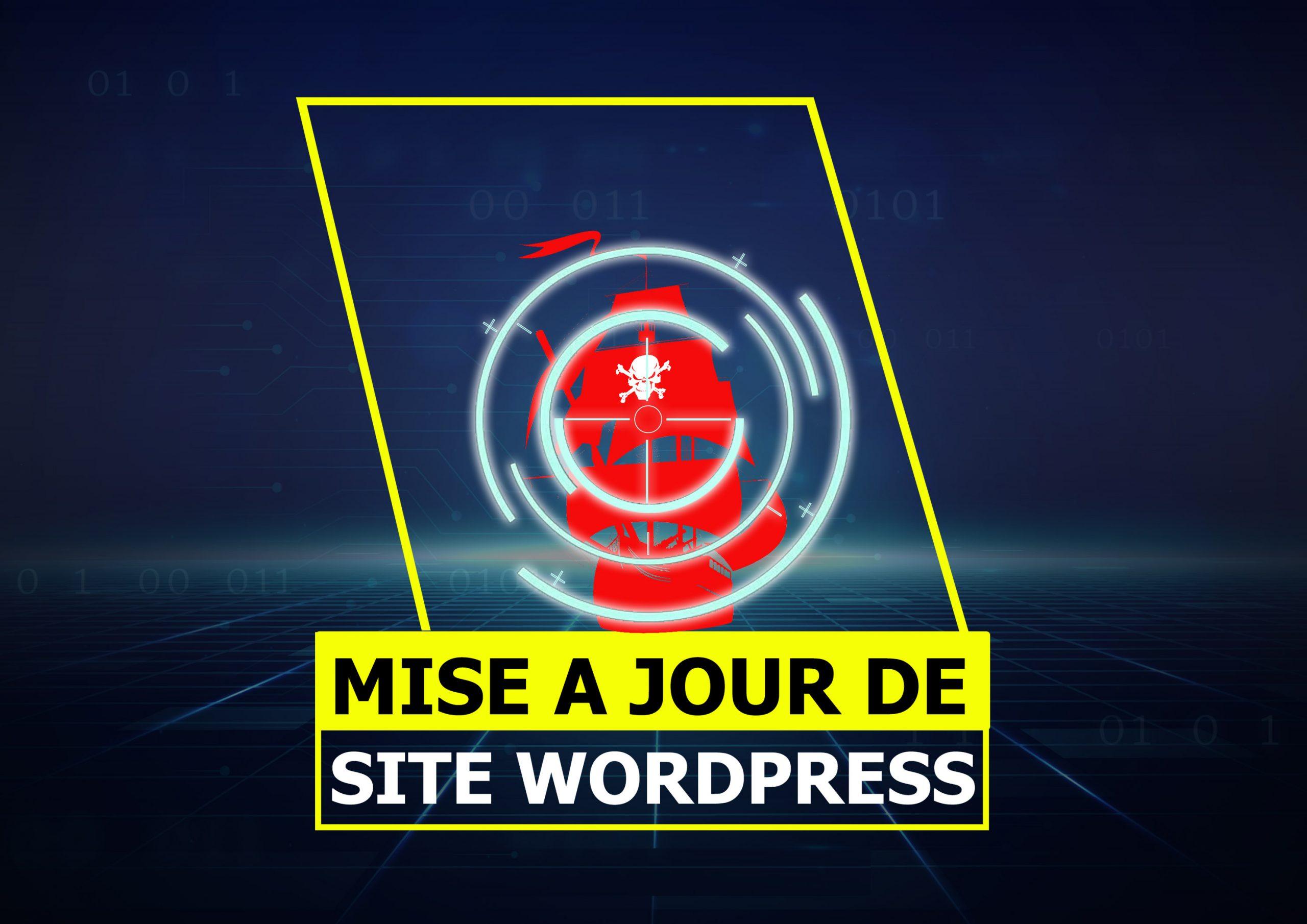 Je mets à jour votre site WordPress afin d'entretenir ses performances et sa sécurité
